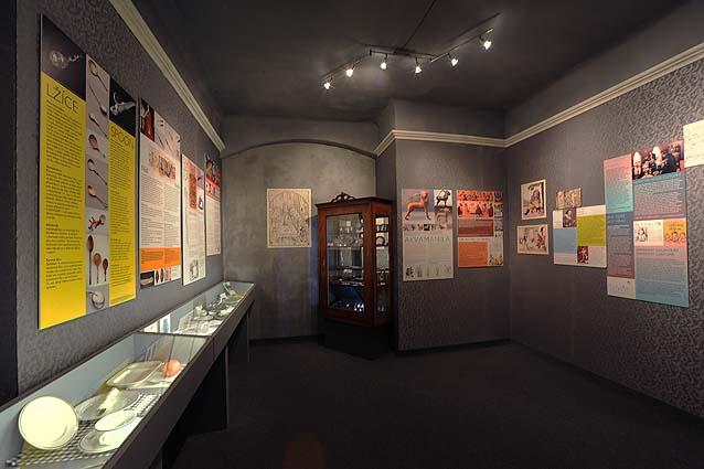 expozice muzea gastronomie - síň slávy