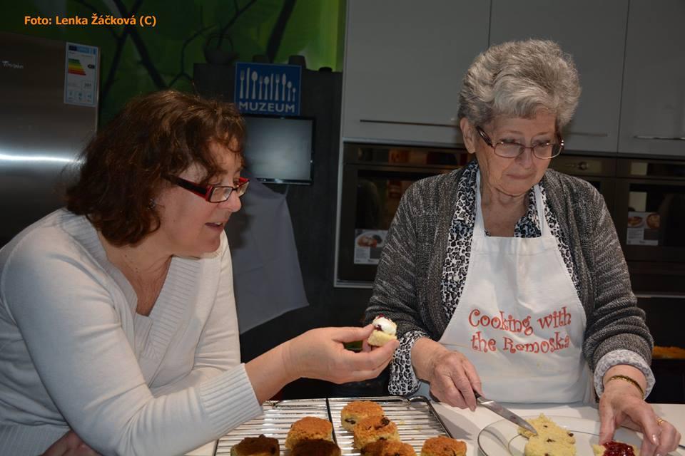Lady Milena v muzeu gastronomie