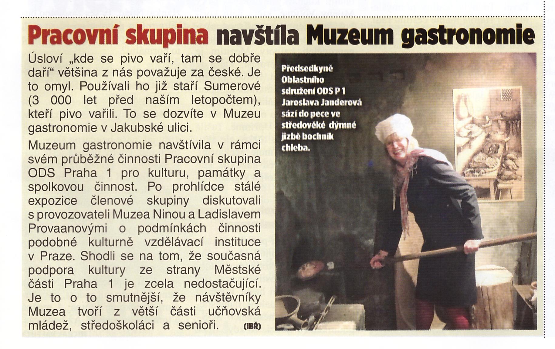 Právo Muzeum gastronomie