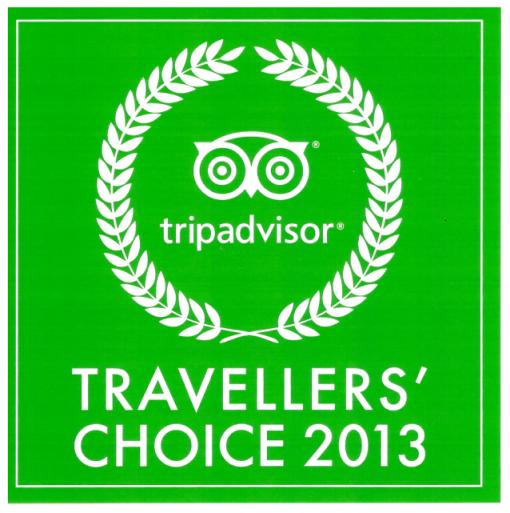 Ocenění TripAdvisor