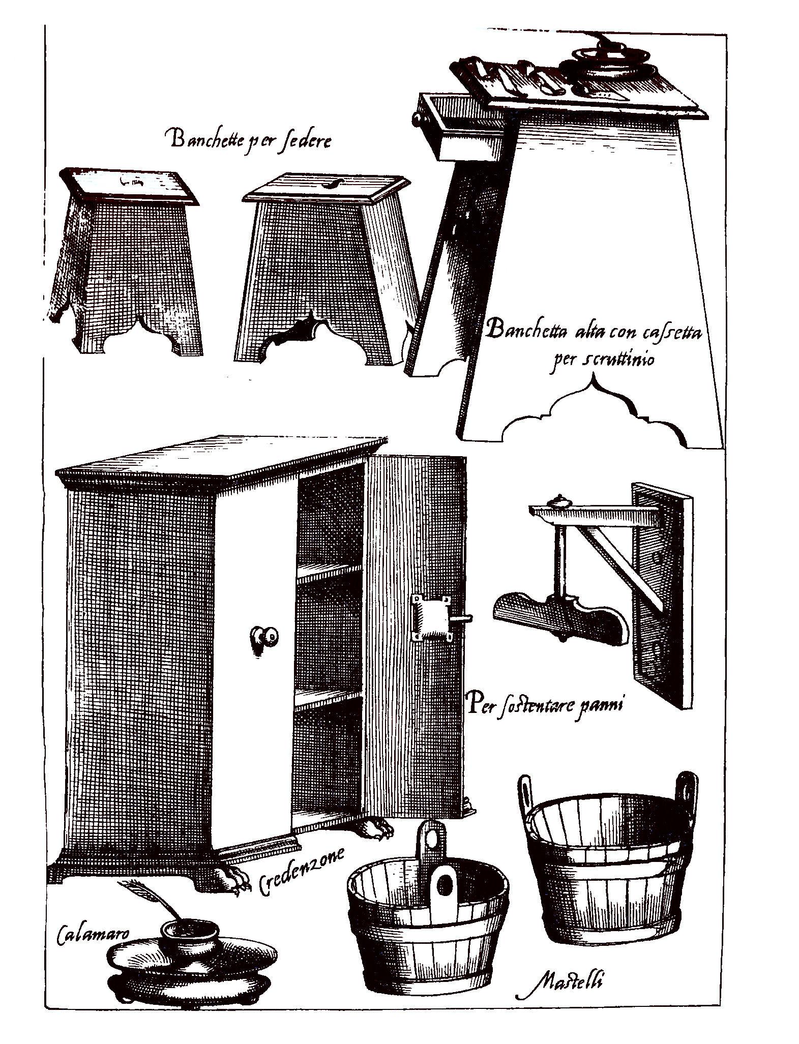 zařízení pokojů kardinálů